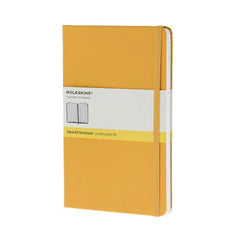 Moleskine Classic Notebook - Squared - Pocket - Hardcover - Orange Yellow