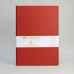 Clairefontaine Notebook - Essentials - Clothbound - A4 - Ruled - Red