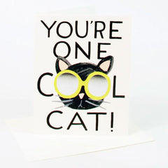Rifle Paper Co. - You're One Cool Cat! Card