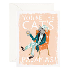 Rifle Paper Co. - Cat's Pajamas Card