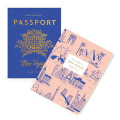 Rifle Paper Co. - Pack of 2 Pocket Journals - Passport