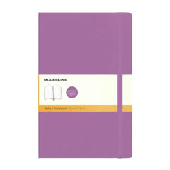 Moleskine Classic Notebook - Ruled - Large - Softcover - Orchid Purple