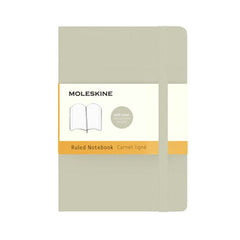 Moleskine Classic Notebook - Ruled - Pocket - Softcover - Khaki