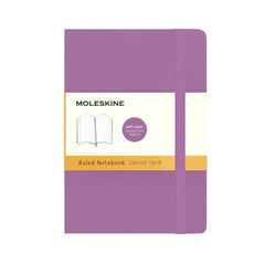 Moleskine Classic Notebook - Ruled - Pocket - Softcover - Orchid Purple