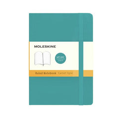 Moleskine Classic Notebook - Ruled - Pocket - Softcover - Underwater Blue