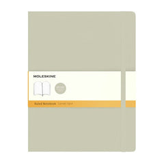 Moleskine Classic Notebook - Ruled - Extra Large - Softcover - Khaki