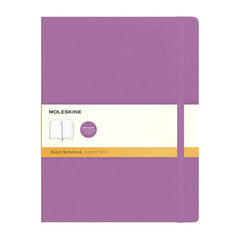 Moleskine Classic Notebook - Ruled - Extra Large - Softcover - Orchid Purple