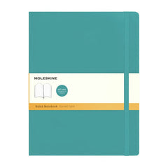 Moleskine Classic Notebook - Ruled - Extra Large - Softcover - Underwater Blue