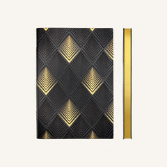 Daycraft Signature Art Deco Dotted Notebook - A5 - Pyramid