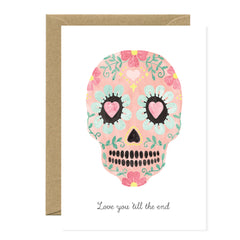 All The Ways To say - Card - Love You Skull