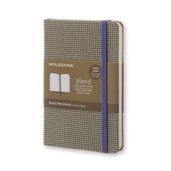 Moleskine - Blend Notebook Limited Edition - Pocket - Ruled - Green