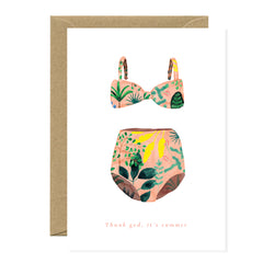 All The Ways To say - Card - Swimming Suit Summer