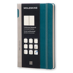 Moleskine - Professional Notebook - Large - Hard Cover - Tide Green