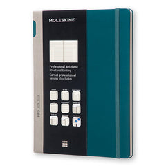 Moleskine - Professional Notebook -  Extra Large - Hard Cover - Tide Green