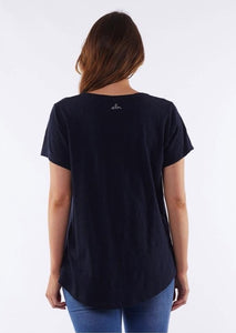 Navy Starry Eyed Tee