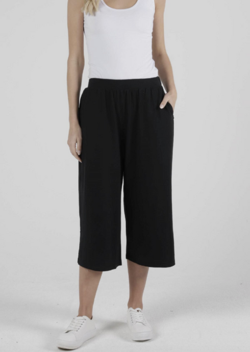 Palos Crop Pant Black
