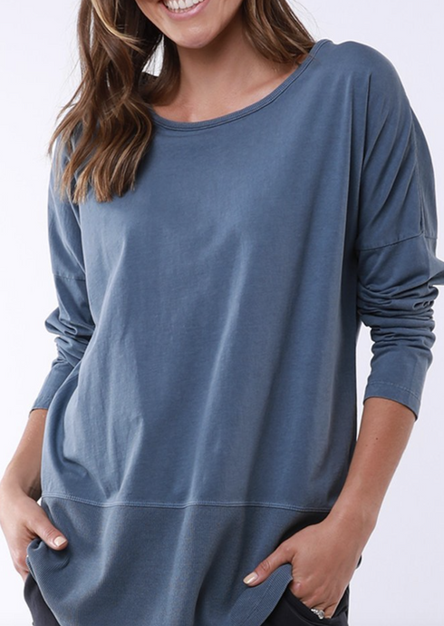 Fundamental Rib L/S Tee Assorted Colours