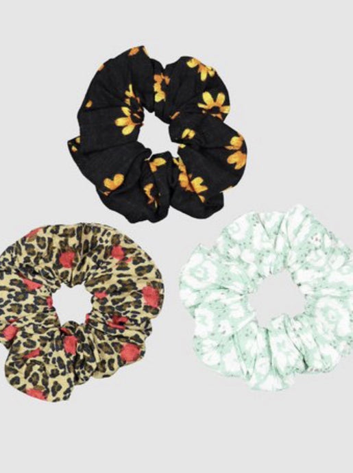 Scrunchie 3Pk Mint