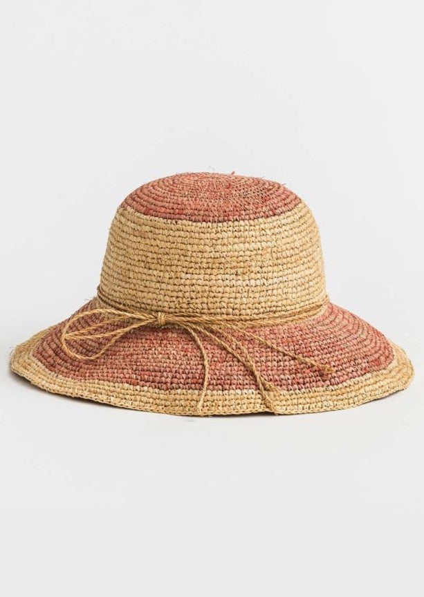 Luca Raffia Hat Assorted