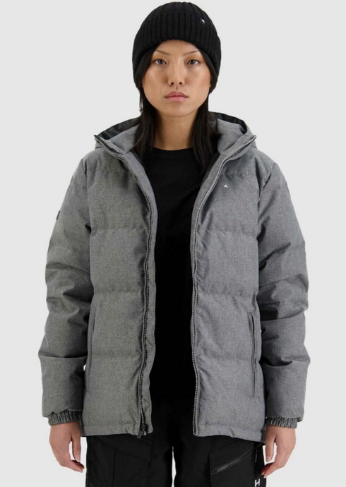 Womens Classic Down Jacket Grey