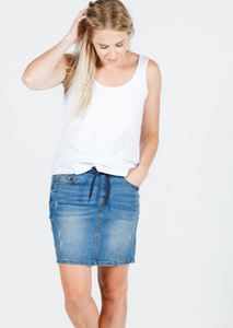 HL Denim Skirt
