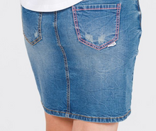 Load image into Gallery viewer, HL Denim Skirt