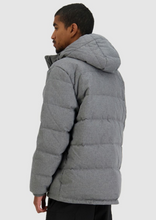 Load image into Gallery viewer, Mens Classic Down Jacket HBone Grey