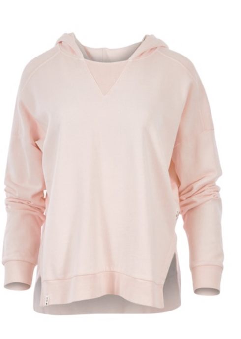 Fundamental Split Hoody Pink