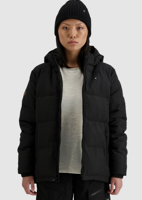 Womens Classic Down Jacket Black