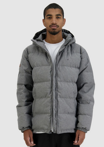 Mens Classic Down Jacket HBone Grey