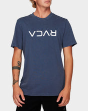 Load image into Gallery viewer, RVCA Flipped Tee Moody Blue