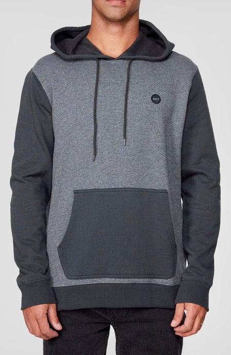 Motors Blocked Pullover Smokey Grey