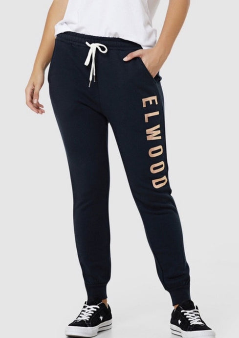 Huff n Puff Track Pants Navy