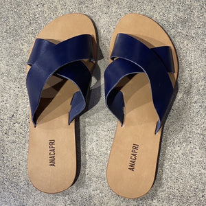 Flat Cross Navy