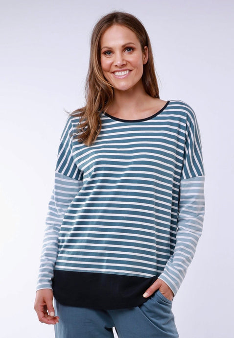 Liberty Stripe LS Tee
