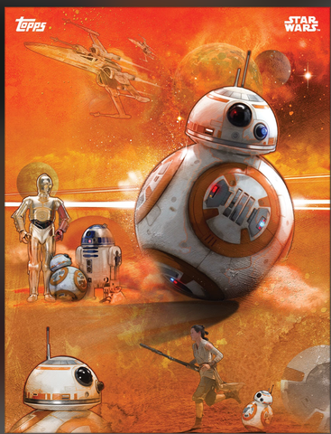 BB-8 The Force Awakens: Premiere