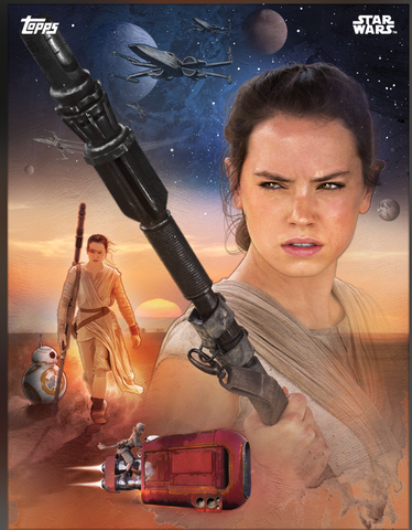 Rey The Force Awakens: Premiere