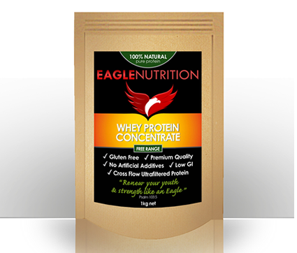 Eagle Nutrition Whey Protein Concentrate 1kg
