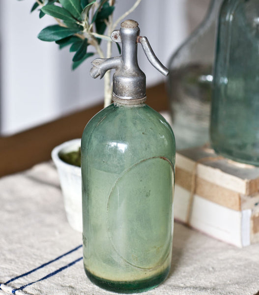 Seltzer Bottle Green