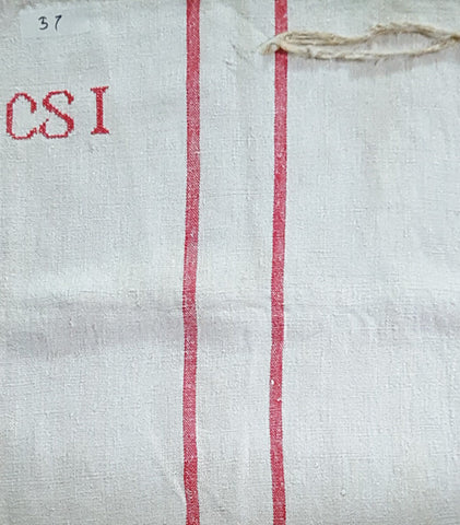 Grainsack #57 - CSI Red Double Stripe Vintage
