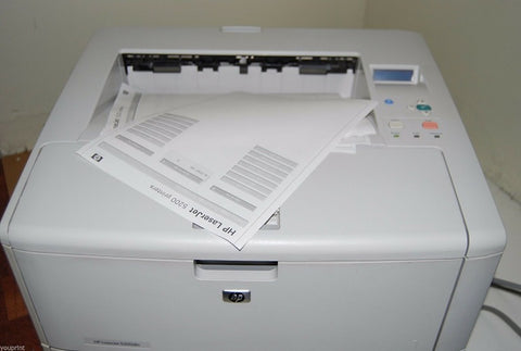 HP LaserJet 5200DTN Commercial Laser Printer - Refurbished