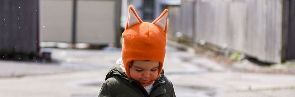 Puffin Gear Child and Infant Hats and Neck Warmers for Blustery Days
