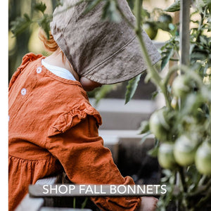 Puffin Gear Child and Infant Fall Bonnets-Made in Canada