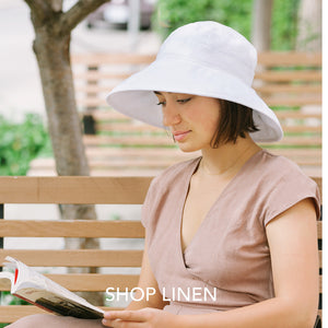 Puffin Gear Adult Linen Sun Protection Hats-UPF50-Made in Canada