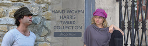 Puffin Gear Harris Tweed Women and Men's Harris Tweed Hats-Made in Canada