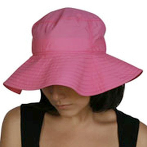 Puffin Gear Solar Nylon Ladies Sun Protection Floppy Hat-Made in Canada