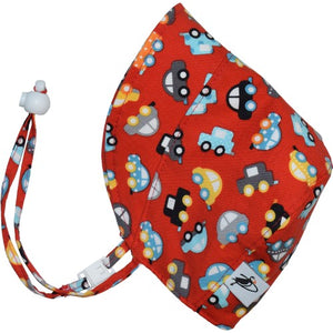 Puffin Gear UPF50 Sun Protection Infant and Toddler Bonnet SALE-Traffic Jam
