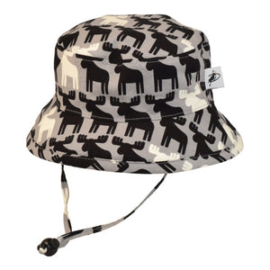 Puffin Gear Child Camp Sun Protection Hat-Moose-Made in Canada