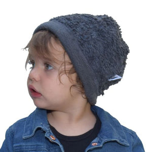 Puffin Gear Organic Cotton Sherpa Beanie-Infant Toddler and Child-Made in Canada