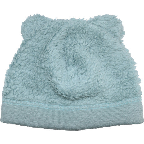 Puffin Gear Organic Cotton Sherpa Fleece Bear Beanie-Made in Canada